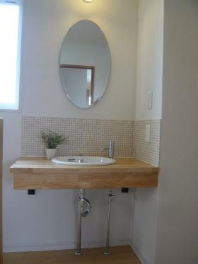 2階 手洗カウンター