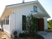 塗り壁の家外観